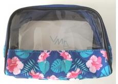 Albi Original Cosmetics bag with Hibiscus window 18 cm x 14 cm x 6.5 cm