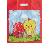 Nekupto Plastic bag 380 x 450 mm Easter Chicken