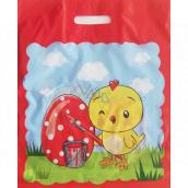 Nekupto Easter plastic bag Chicken 380 x 450 mm