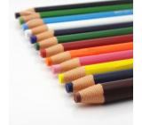 Uni Mitsubishi Dermatograph Industrial marking pencil for various types of surfaces Orange 1 piece
