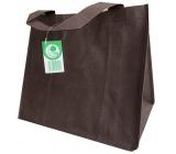 Shopping cloth bag brown 32 x 28 x 22 cm