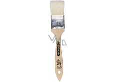 Spokar Flat ribbon, wooden handle, bleached bristle