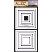 Room Decor Wall stickers squares white 69 x 32 cm