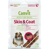 Canvit Health Care Snacks Skin & Coat Dog Remedy for Skin Regeneration and Hair Quality 200 g