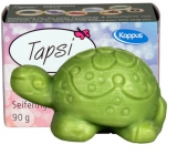Cappuccino Turtle soft toilet soap in a box of 90 g