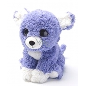 Albi Warm plush Puppy purple, 25 cm × 20 cm, 750 g