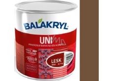 Balakryl Uni Gloss 0225 Light brown universal paint for metal and wood 700 g