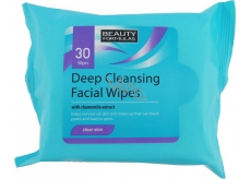 Beauty Formulas Cleansing wipes for deep cleaning 30 pieces