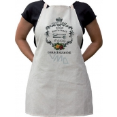 Bohemia Gifts & Cosmetics Kitchen apron with print Grand restaurant Grandmother, length 75 cm
