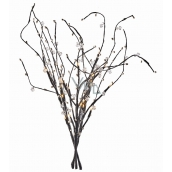 Branch lighting 60 cm, 24 LEDs, warm white + 0.3 m lead cable + timer