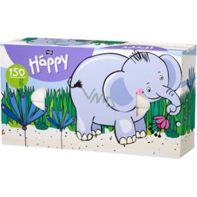 Bella Happy Baby Elephant hygienic handkerchiefs 2 ply 150 pieces