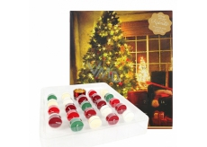 Heart & Home Advent Calendar Soy scented candle tea 24 pieces gift set