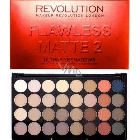 Makeup Revolution Ultra Eyeshadows Palette 32 Eyeshadow Flawless Matte 2 20 g