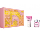 Versace Bright Crystal Eau de Toilette 30 ml + Body Lotion 50 ml, gift set