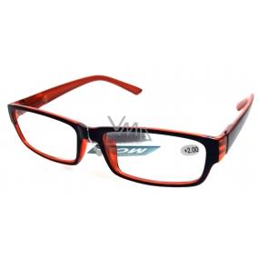 Eyeglasses + 1 Black Orange MC2062