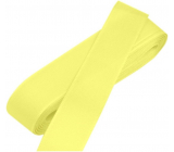 Nekupto Fabric taffeta ribbon yellow 3 mx 15 mm