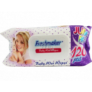Freshmaker Baby Wet Wipes Jumbo Wet Wipes for Kids 120 pieces