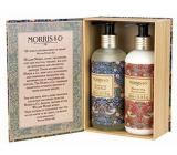 Heathcote & Ivory Strawberry Thief cleansing gel 300 ml + hand lotion 300 ml, cosmetic set