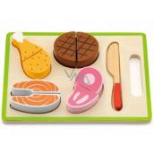 BABU Halved wooden food insert 22.5 x 15 x 3 cm