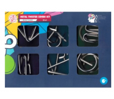 Albi Metal Twister Combo Kit 6in1 set of 6 puzzles, age 6+