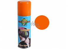 From colored hairspray Orange 125 ml spray