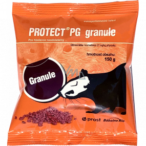 Prost Protect PG Granule rodenticide rodent control bag 150 g
