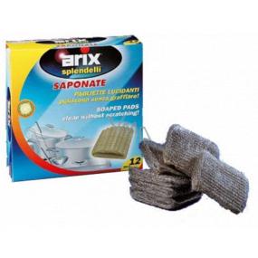 Arix Wire impregnated pillows, lemon scent 12 pieces
