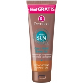 Dermacol Sun After Sun Chocolate and orange after-sun shower gel 250 ml