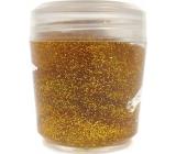 Ocean Glitter Gel glitter for body and hair in gold gel 10 g