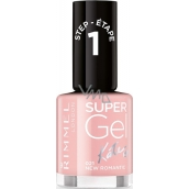 Rimmel London Super Gel by Kate lak na nehty 021 New Romantic 12 ml