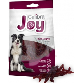 Calibra Joy Duck meat supplementary food for dogs 80 g