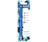 Nekupto Stylus Ballpoint pen named Radim