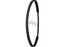 Ivybands Protiskluzová čelenka do vlasů černá unisex, 1 cm