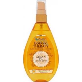 Garnier Botanic Therapy Argan Oil & Camelia Extract vyživující olej pro mdlé, těžko upravitelné vlasy 150 ml