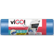 viGO! Trash bags retractable 60 liters 60 x 70 cm 13µ 10 pieces