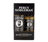 Percy Nobleman Beard Shampoo 30 ml + Percy Nobleman Perfumery Perfume Oil 10 ml Cosmetic Make Up Set for Beard and Must
