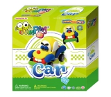 Jumping Clay Auto self-drying modeling clay 33 g + dummy + wheels 4+