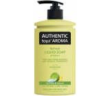 Authentic Toya Aroma Ice Lime & Lemon Liquid Soap 400 ml dispenser