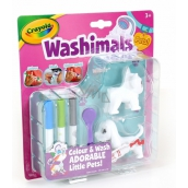 Albi Crayola Washimals Mini Set Dogs unique animals that children can draw according to their imagination, age 3+