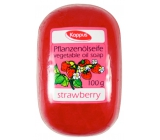 Kappus Strawberry glycerin toilet soap with vegetable oil 100 g