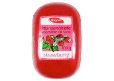 Kappus Strawberry glycerine toilet soap with vegetable oil 100 g