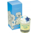 Bomb Cosmetics Glamorous sands fragrant natural, hand made candle in glass burns up to 35 hours