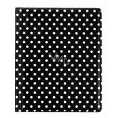 Card case - Black dots