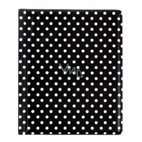 Card case - Black dots