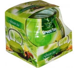 Ädmit Green Tea - Green tea scented candle in glass 80 g