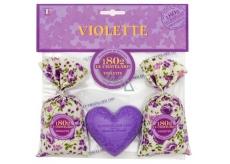 Le Chatelard Violet Sachet 2 x 18 g + Heart Shape 100 g