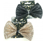 Bow tie Happy New Year with sequins