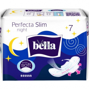 Bella Perfecta Slim Night Extra Soft ultra-thin sanitary pads with wings 7 pieces