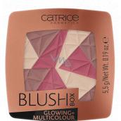 Catrice Blush Box Glowing + Multicolour blush 030 Warm Soul 5.5 g