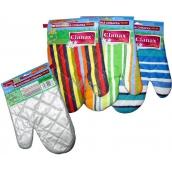 Clanax Kitchen glove Teflon, various motifs and colors 17 x 26 cm 1 piece